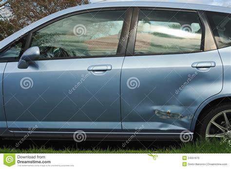 Door Of Car by Car Door Damage Stock Photo Image 24551670
