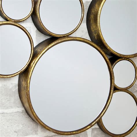 decorative mirrors online funky circles mirror by decorative mirrors online