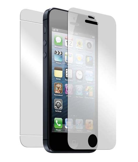 Screen Guard Ruby Iphone Touch apple iphone 5 5s tempered glass screen guard by neutron