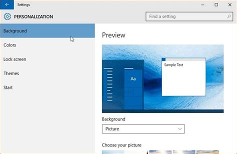 windows 10 themes changer how to change the default theme in windows 10