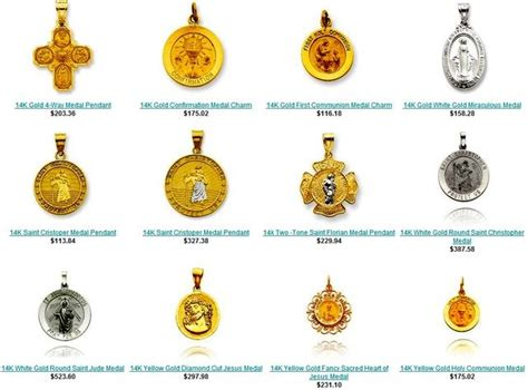 patron saints medals patron saints medals and meanings
