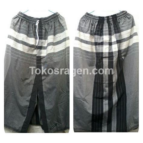 Bahan Denim Celana sarung celana dewasa dari bahan sarung gajah duduk black white sarung celana
