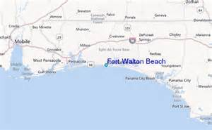 fort walton tide station location guide