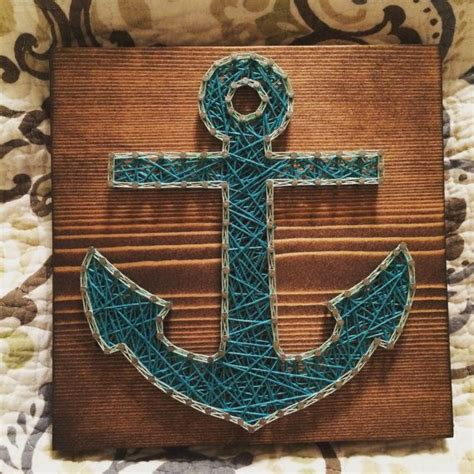 String Anchor - custom anchor string by kiwistrings on etsy string