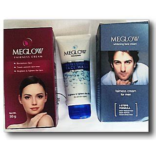 Glow Whitening Cleanser 100gr combo offer meglow fairness for