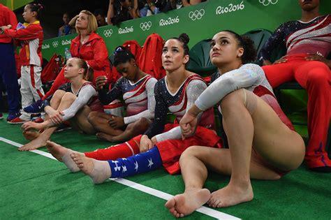 gymnastics wardrobe malfunctions 2016 rio olympics usa s golden night chloe goodman si com