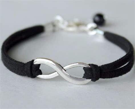 pulseras y cadenas para parejas pulseras para parejas del infinito en oro blanco 10k
