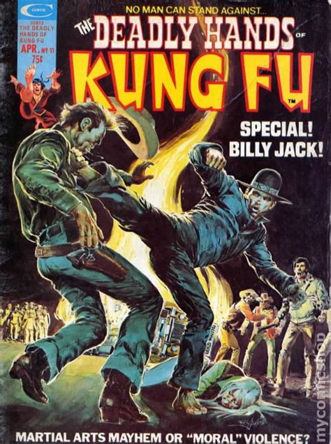 deadly hands of kung deadly hands of kung fu 1974 magazine comic books
