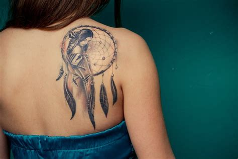 unique dreamcatcher tattoos bird tattoo dreamcatcher tattoos for