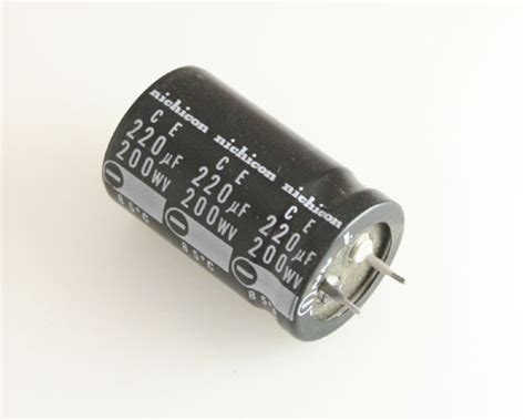 nichicon electrolytic capacitor 120 uf 200v llk2d221mhsa nichicon capacitor 220uf 200v aluminum electrolytic snap in 2020031328