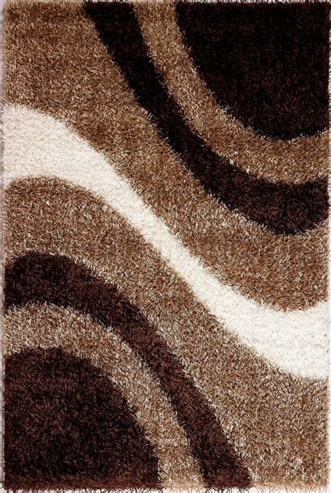Modern M6006 Beige Brown Area Rug Brown And Beige Area Rug