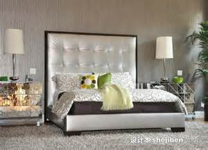 Design For Mirrored Furniture Bedroom Ideas 软包床头图片 设计本装修效果图