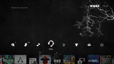 themes ps4 us the last of us ps4 dynamic theme is pretty darn good have