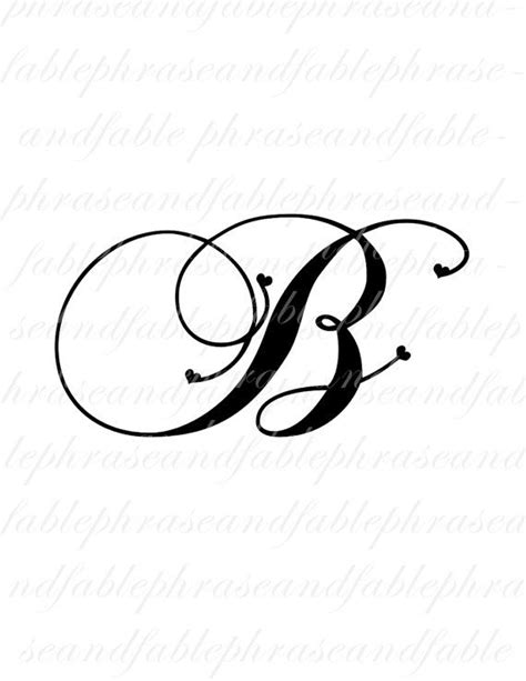 the letter b tattoo designs letter b fonts www pixshark images