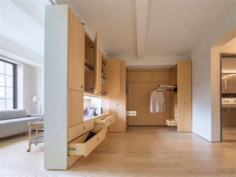 Secret Bedrooms by Architecture Workshop S 400 Square Foot Studio Has A