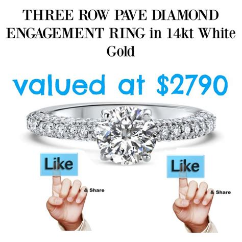 Engagement Ring Sweepstakes 2017 - win gorgeous engagement ring ritani sweepstakes