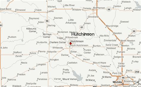 What County Is Hutchinson Kansas In Hutchinson Kansas Location Guide