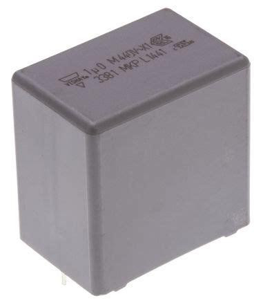 mkp series capacitor bfc233810105 vishay 1μf polypropylene capacitor pp 440v ac 177 20 tolerance through mkp 338