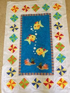 Patchwork Fish Pattern - quot reef quot applique pattern by tracey cbell australia