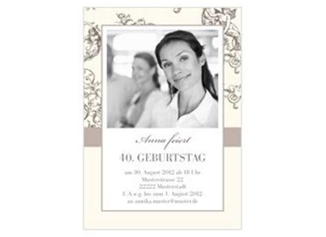 Hochzeitseinladung Jugendstil by Einladungskarte 40 Geburtstag Jugendstil