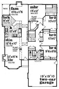 Four Bedroom Bungalow Floor Plan by 2 Bedroom Bungalow 4 Bedroom Bungalow House Plans Four