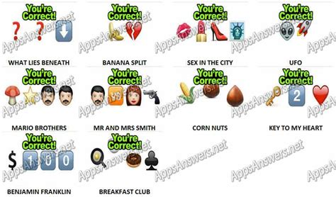 imagenes de guess the emoji level 1 guess the emoji level 20 answers apps answers net
