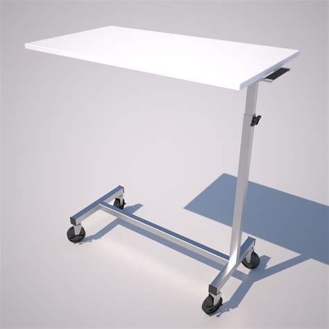 Hospital Bed Table by 3ds Max Hospital Bed Table Iv