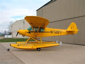 The super cub as a bush plane bush pilot in training