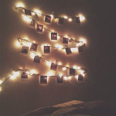 lights with photos polaroid inspiration lights photos decoration