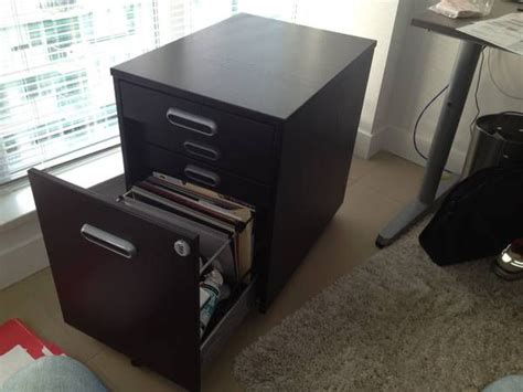 ikea galant brown filing cabinet w lock condo ideas