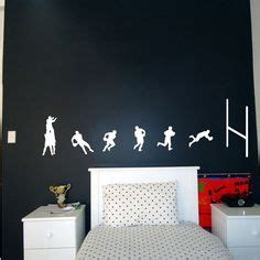 Rugby Wall Stickers details about personalised rugby wall art giant sticker