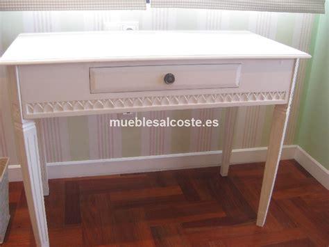 escritorio blanco segunda mano escritorio madera lacado en blanco cod 14230 segunda mano
