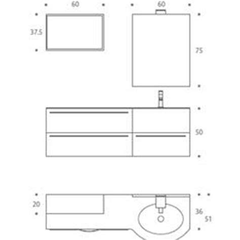mobile bagno dimensioni awesome misure mobili bagno gallery acrylicgiftware us