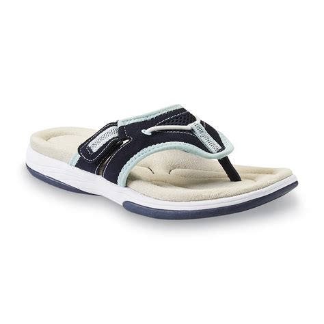 kmart womens sandals athletech s elynn sport sandal navy