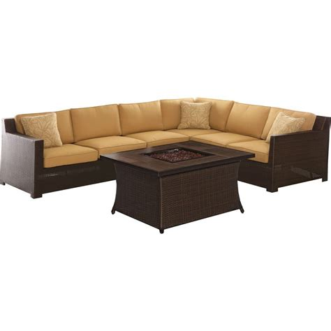 leather sofa pit pit sectional home furniture design