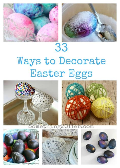 how to decorate easter eggs ways to decorate easter eggs