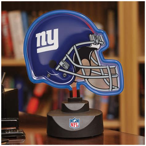 gifts for giants fans nfl neon helmet desk l 235553 sports fan gifts at