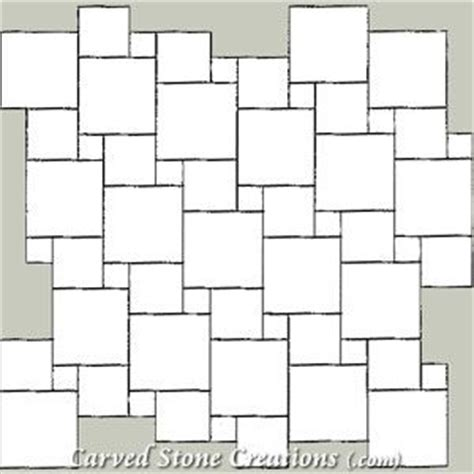tile pattern using 12x12 and 18x18 pin by eric skiff on mosaic tile patterns pinterest
