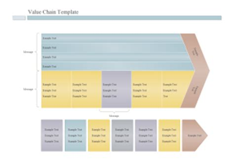 value chain template image collections templates design