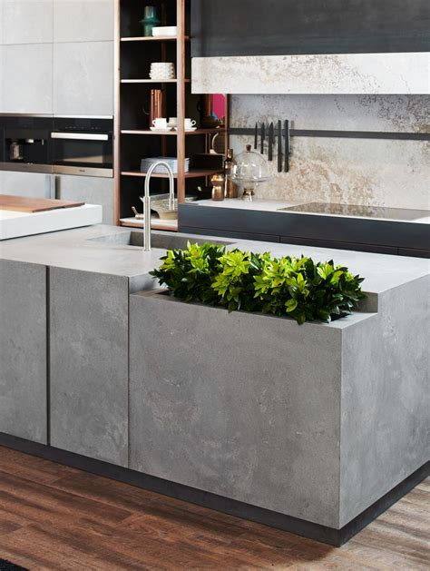 island  rugged concrete kitchen industrial kitchen design concrete kitchen kitchen