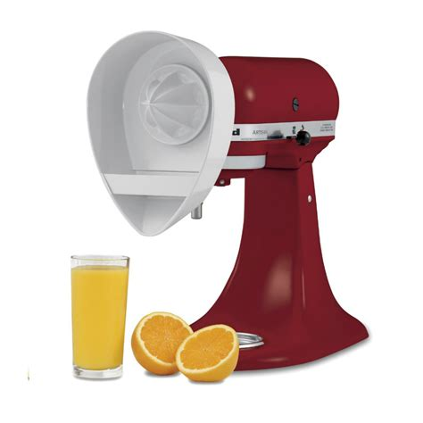 Mixer Juice kitchenaid citrus juicer and strainer attachment