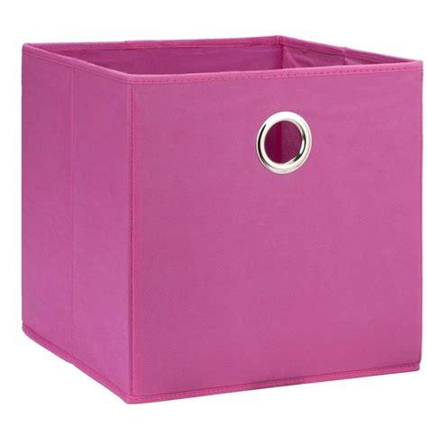 leenbakker opbergbox opbergbox parijs roze 31x31x31 cm leen bakker top