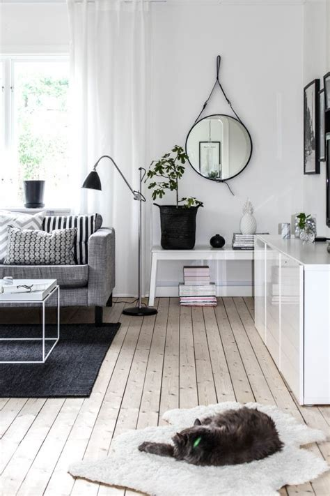 black and white home design inspiration black and white living room ikea karlstad sofa isunda