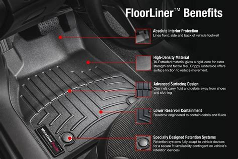 Wheather Tech Mats by Weathertech 174 Digitalfit Molded Floor Liners