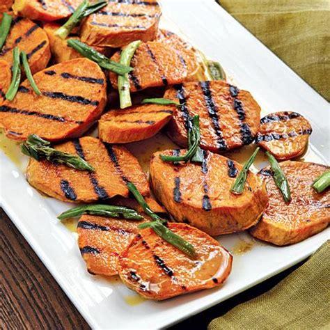 grilled sweet potato salad lighter american dishes