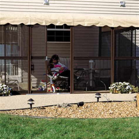 patio mate screened enclosure 11 6 quot x 15 5 quot with two