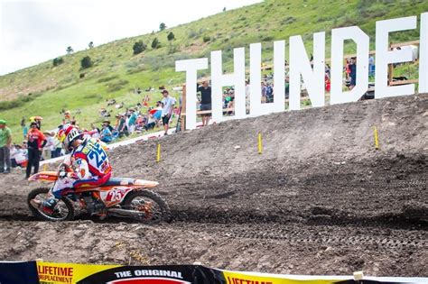 2017 high point motocross results baggett wins leads series 2017 thunder valley motocross results baggett bogle win