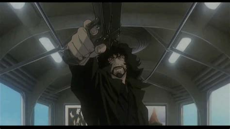 film cowboy bebop cinema cowboy bebop movie hd train scene spike vs vincent