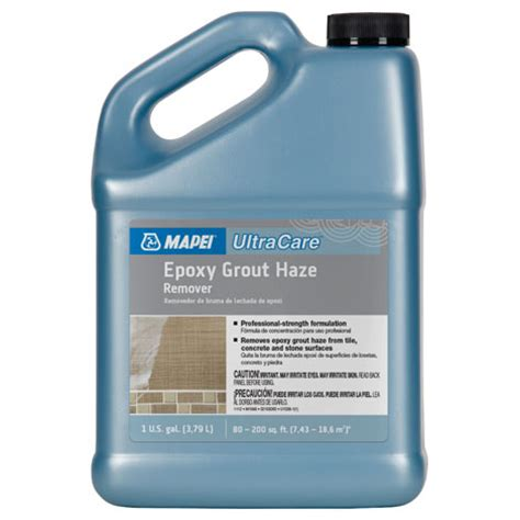mapei cleaners mapei ultracare epoxy grout haze remover