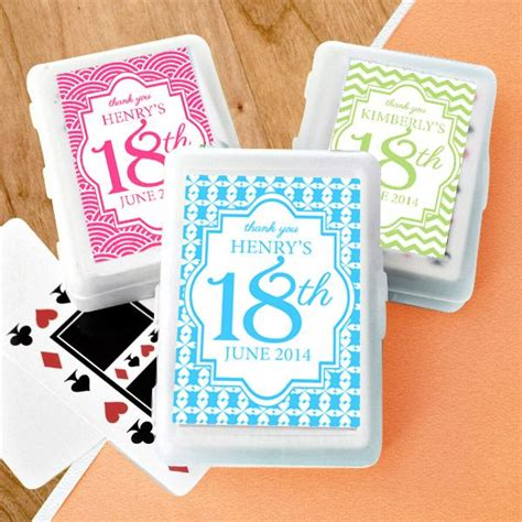 18th Birthday Giveaways Ideas - 25 best ideas about personalised playing cards on pinterest personalized playing